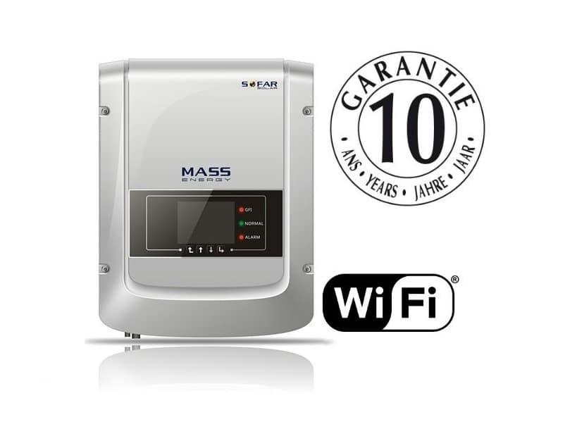 SofarSolar SunnyDog Series 1-3k Wifi 10 year warranty