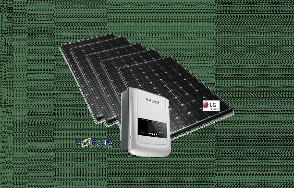 Geen LG monoX Neon set Sofar Solar