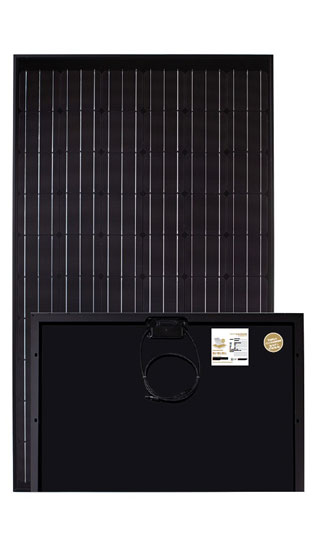Luxor secure line full black glas glas zonnepaneel