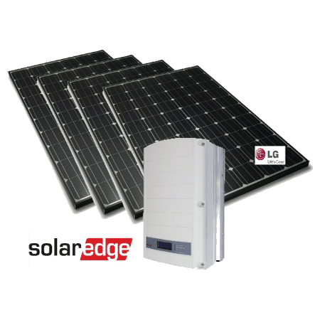 SolarEdge LG MonoX Neon